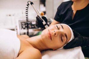 Laser para tratamiento de cicatrices de acne