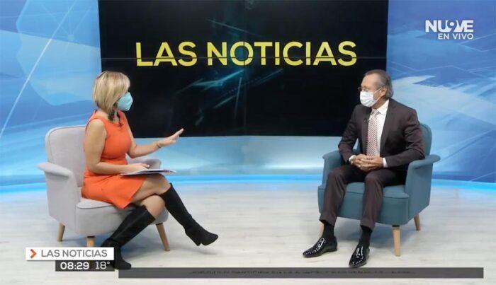 Entrevista Televisa Rolando Samper